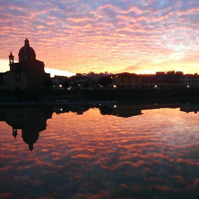 tramonto fiorentino